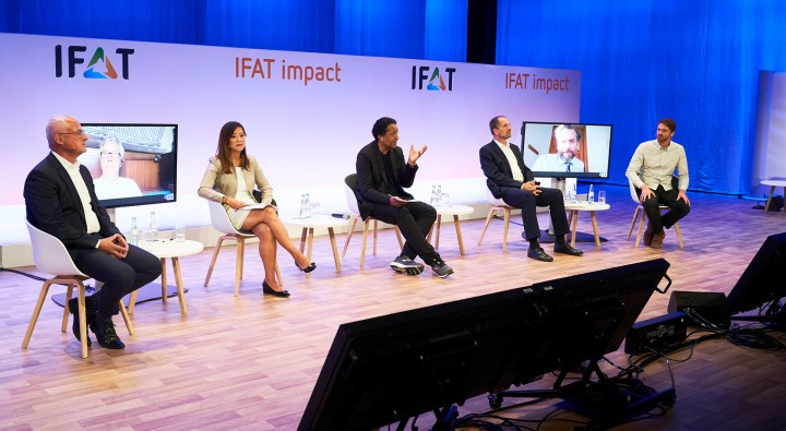 Successful premiere: IFAT impact Panel Discussion