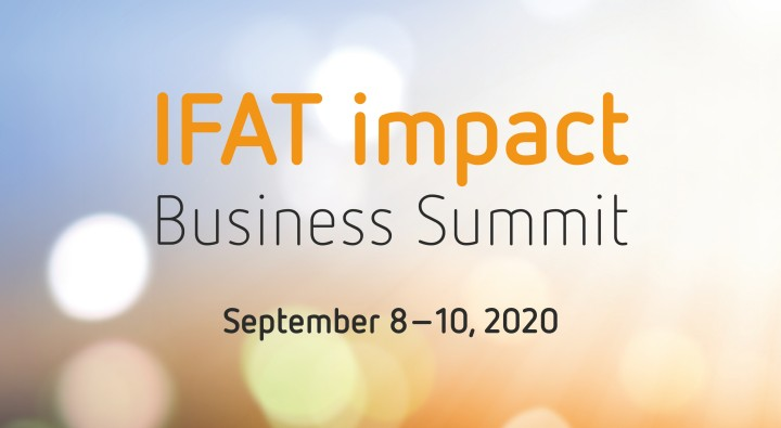 Know-how and B2B networking at the IFAT impact Business Summit.